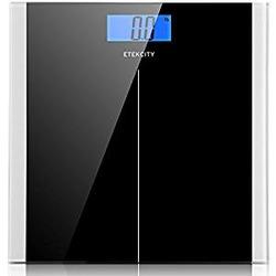 Etekcity 506lb/230kg Digital Body Weight Bathroom Scale with 4.3-Inch Backlit LCD Display