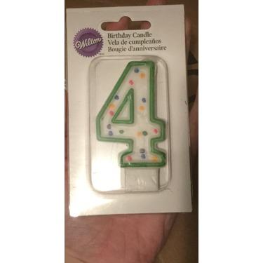 Wilton birthday candle