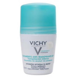 Vichy DEODORANT 48-hour INTENSIVE ANTI-PERSPIRANT TREATMENT - ROLL-ON