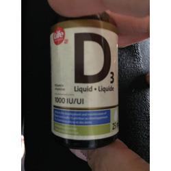 Life Brand liquid vitamin D3