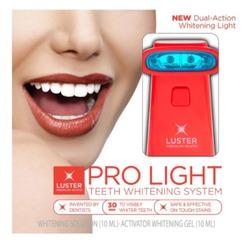 Prolight teeth whitening system
