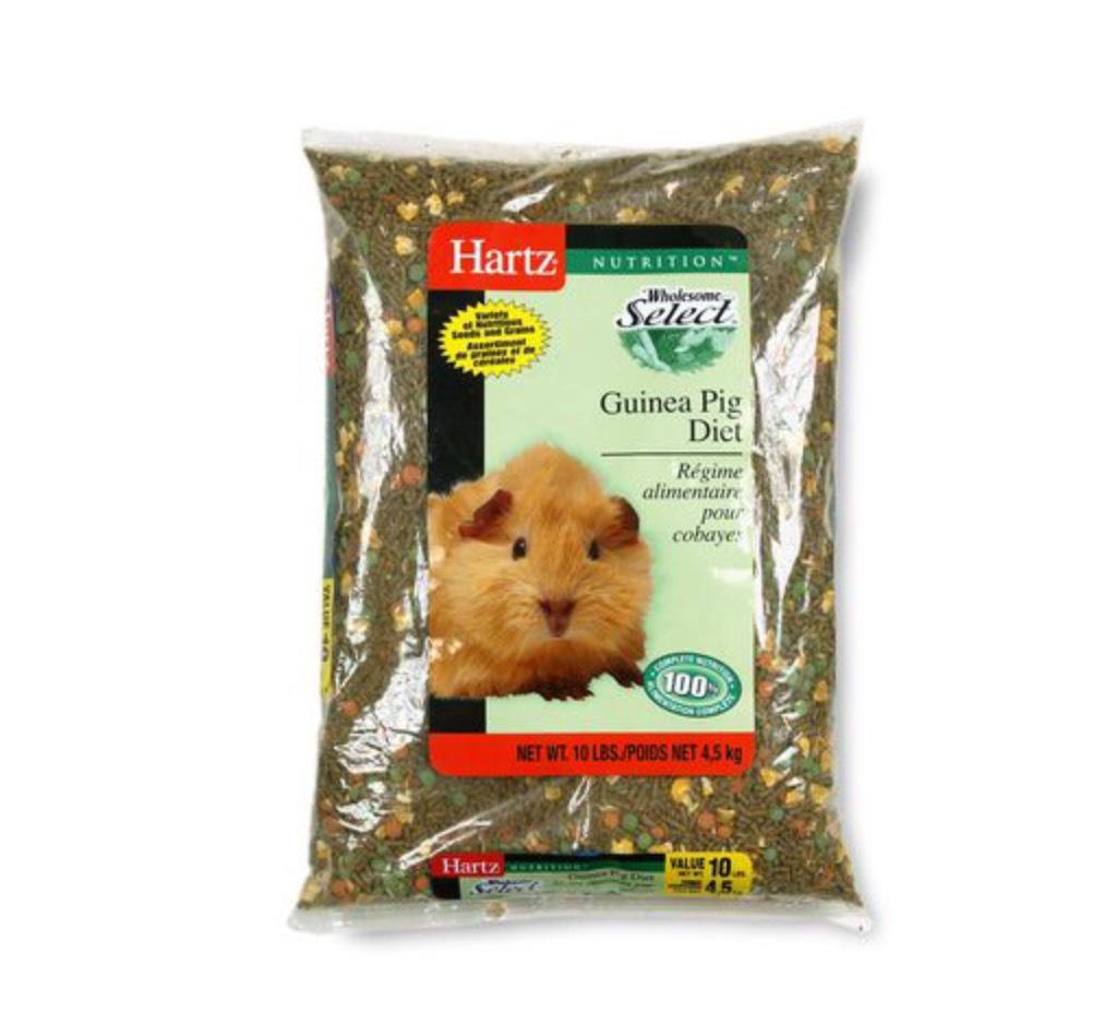 Hartz Guinea Pig Food Reviews