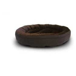 Casablanca round solid dog bed