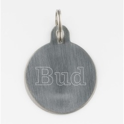 Engraved pet tag from things engraved