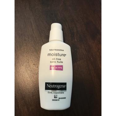 Neutrogena moisture oil-free SPF 30