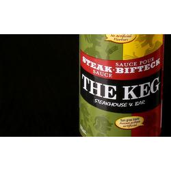 The keg steak sauce