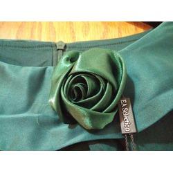 EA Selection Women's Half Sleeves 1950s Vintage Swing Dress (Green)