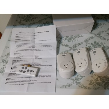 Plater Wireless Remote Control Electrical Switch Power Outlet Socket