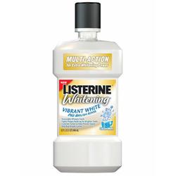 Listerine Pre-Brush Treatment