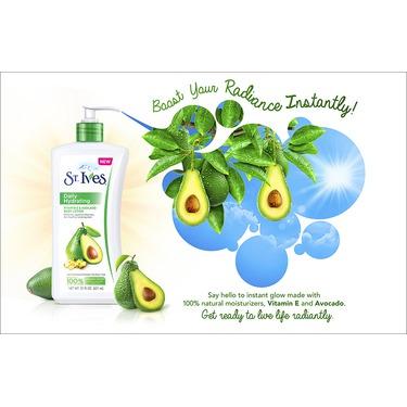 St. Ives Daily Hydrating Vitamin E and Avocado Body Lotion