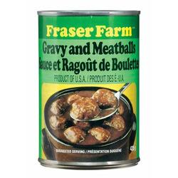 Fraser Farm Gravy and Meatballs