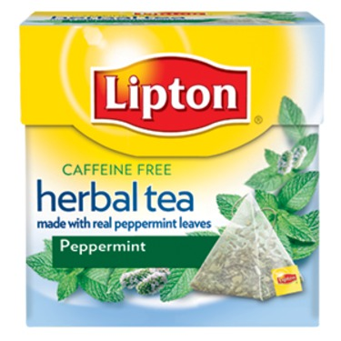 Lipton Herbal Tea Peppermint Pyramid Tea Bags