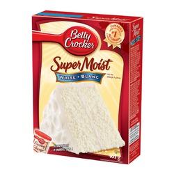 Betty Crocker super moist white