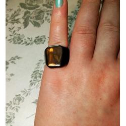 Sirius Men's Fashion Rings Stainless Steel Polished Jewelry Iron Ring Black