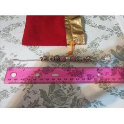 Presentski Silver Plated Charm Bangle Bracelet