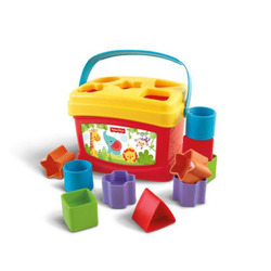 Fisher price brilliant basics babies first blocks