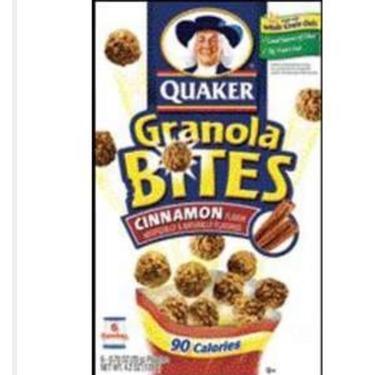 Quaker granola bites cinnamon
