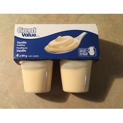Great value vanilla pudding