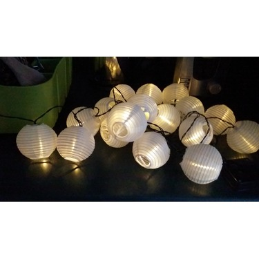 Innoo Tech Solar String Lights Outdoor 15.7ft