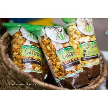 Bad Monkey Caramel Creme Crulee Popcorn