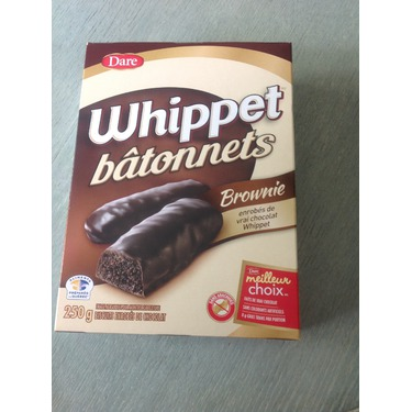 Dare Whippet Bâtonnets Brownies