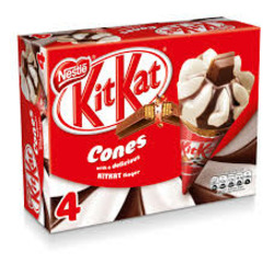 Kit Kat Ice Cream Cones