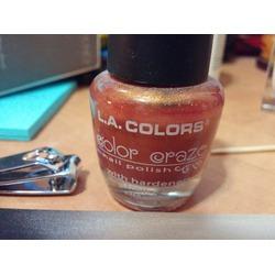 LA Colors Color Craze Nail Polish (Force Color)