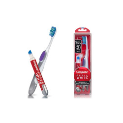 colgate toothbrush and whitening pen