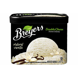 Breyer's Double Churn Vanilla Frozen Dessert