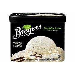 Breyer's Double Churn Vanilla Frozen Dessert