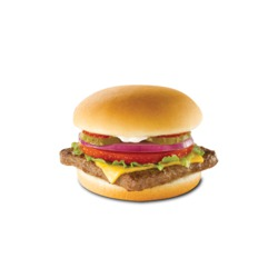 Wendy's Junior Cheeseburger Deluxe