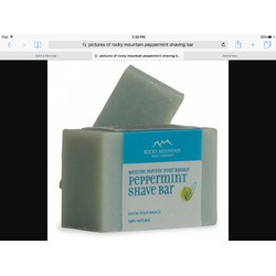 Rocky Mountain Peppermint Shave Bar