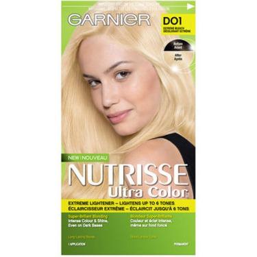 Garnier Nutrisse Ultra Color Permanent Hair Colour - D01 Extreme Bleach