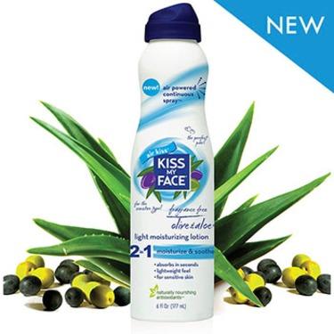 Kiss My Face Olive & Aloe Light Moisturizing Lotion