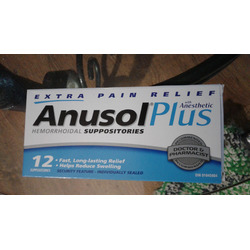 Anusol Plus with Anesthetic
