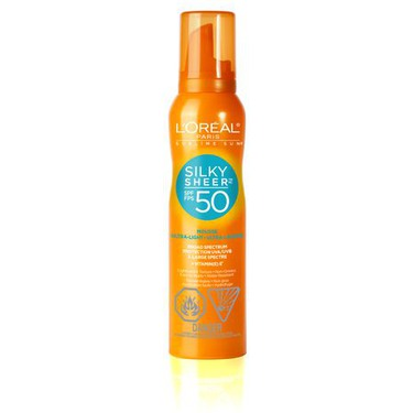 L'Oreal Sublime Sun Silky Sheer SPF50 Mousse