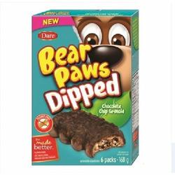 Bear Paws Dipped Caramel Granola
