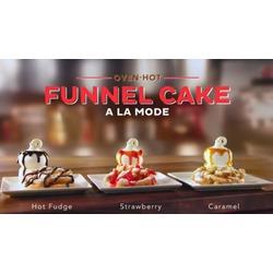 DQ funnel cake a la mode