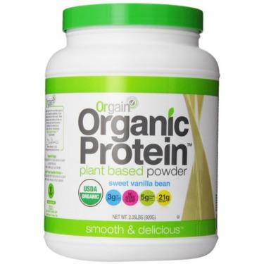 Orgain Organic Plant Protein Powder Sweet Vanilla Bean