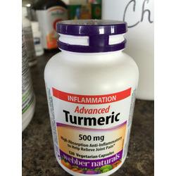 Webber Naturals Advanced Tumeric