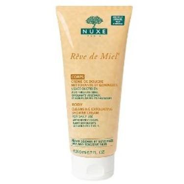 Nuxe Reve de Miel Cleansing Exfoliating Shower Cream
