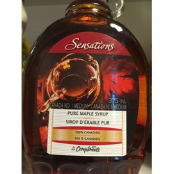Compliments Sensations Pure Maple Syrup