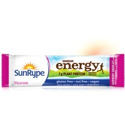 Sun Rype Energy Protein Bar - Chocolate Raspberry