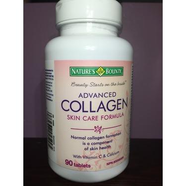 Nature's Bounty Advanced Collagen Skin Care Formula Tablets