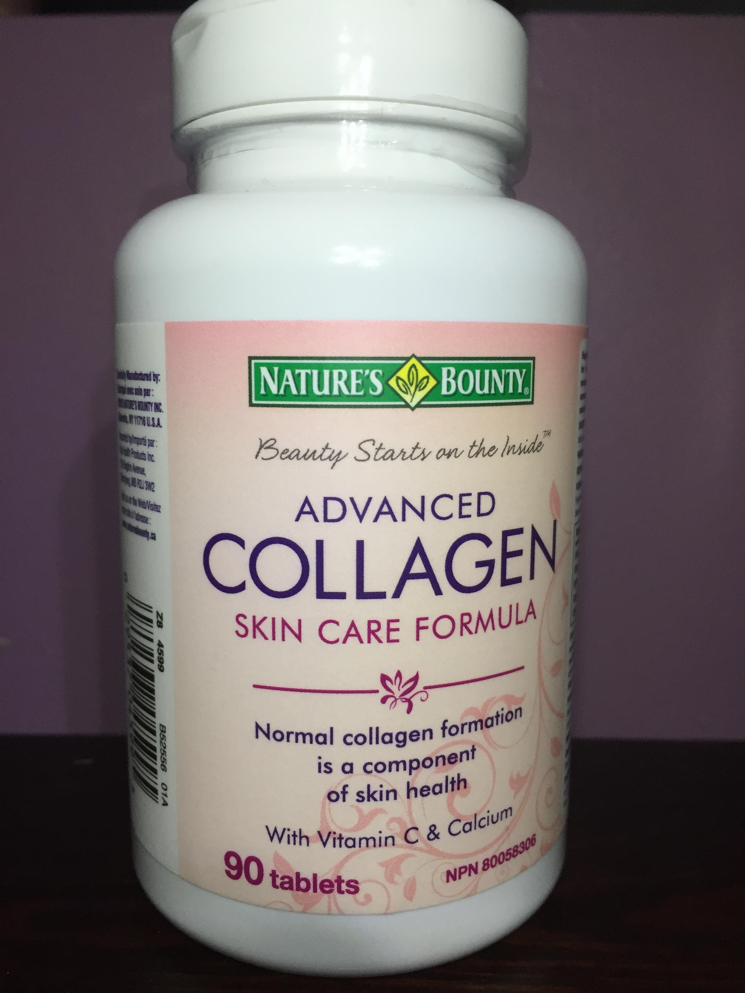 Nature S Bounty Advanced Collagen Skin Care Formula