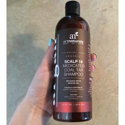 Art naturals scalp 18 medicated coal tar shampoo