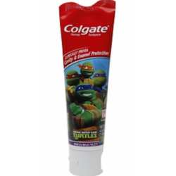 Colgate TMNT bubble fruit kids toothpaste
