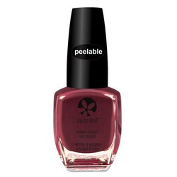 Suncoat vegan peelable water-based nail polish