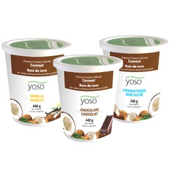 yoso unsweetened creamy cultured coconut
