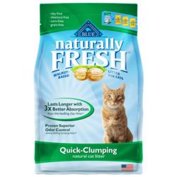 Blue Naturally Fresh Quick-clump natural cat litter